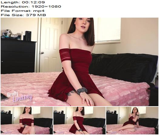 Bratty Lindsay  Submissive Acceptance  Blackmail  Findom preview