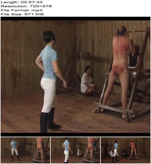 Cruel Amazons  The Sick Horse Slave   Larissa Suzy Black Lady preview