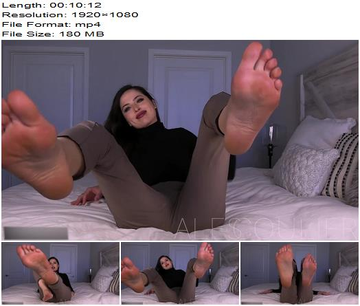 Goddess Alessa  Afterglow  Foot Fetish preview