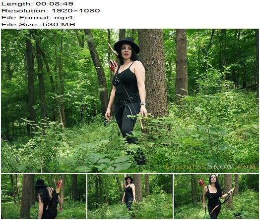 Goddess Alexandra Snow  Huntress Gets Her Prey  Cbt preview