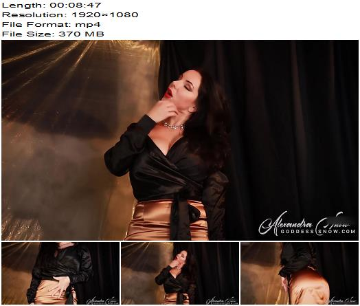 Goddess Alexandra Snow  Soft to the Touch  Oral Servitude preview