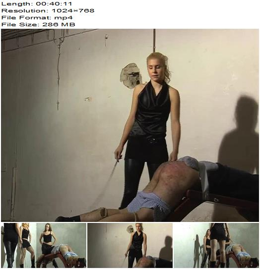 Hard Punishment  Olivia Suzy Natasha  Party with Mistress Olivia  Whipping and Caning preview