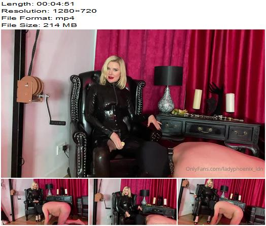 Lady Phoenix  Lunch Is Served  All Slaves Need Feeding preview