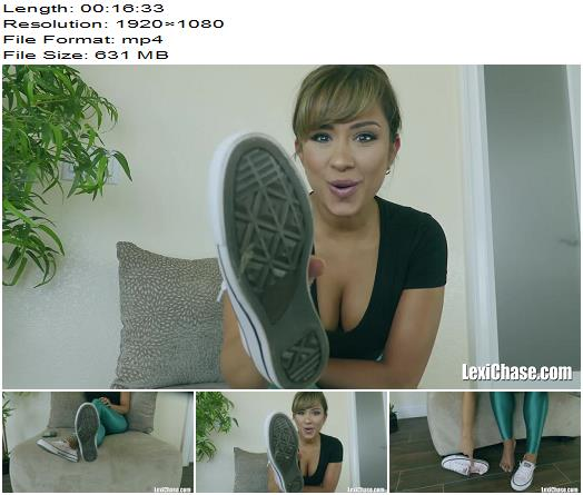 Lexi Chase  Pouncing On The Shoe Complement  Foot Fetish preview