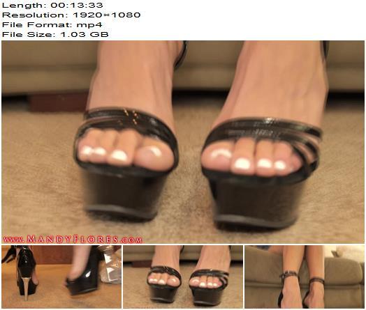 Mandy Flores  Footkold IV Foot Slave Training  Foot Fetish preview