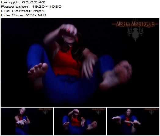 Misha Mystique  Halloween Pedicure  Lotion Feet JOI  Foot Fetish preview