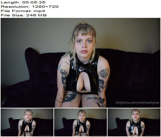 Miss Marilyn  A Joi Cei For All My Little Addicts  CEI preview