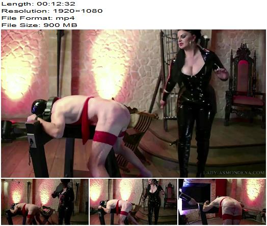 Mistress Asmondena  The Two Slaves  One Beating preview