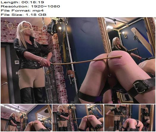 Oubliette Films  Happy Birthday Lady Dark Angel  Whipping and Caning preview