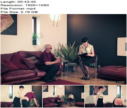 The English Mansion  Miss Jessica  Dice Therapy  Complete Movie  Spanking preview