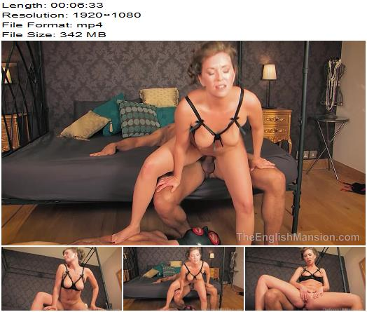 The English Mansion  Mistress T  Creampie For Cuckold  Part 2  Femdom preview