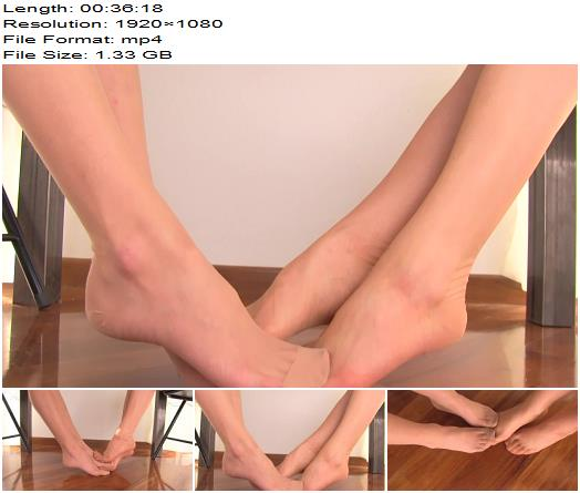 Umiliati and Offesi  The seductive feet 2  Foot Fetish preview