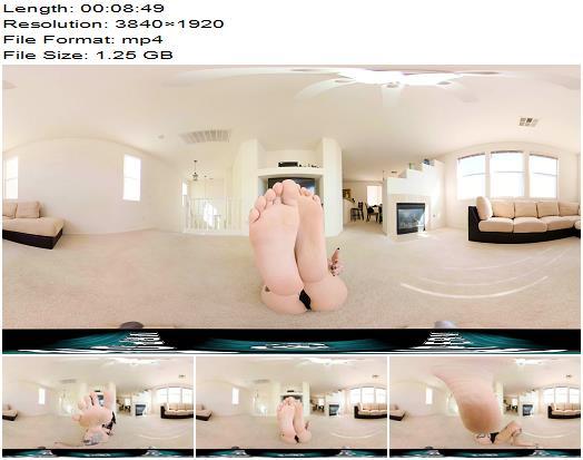 VR Porn Perv  VR360  Femdom Small Feet Tease  Foot Fetish preview