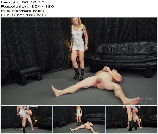 Cruel Anettes Fetish Store  Cruel looking boots   Mistress Anette preview