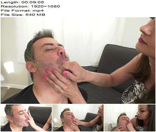 Abbie Cat Fetish Life under Me Hand over mouth gagging and smothering  Femdom preview