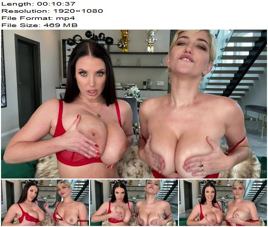 Angela White  Double JOI with Skye Blue preview
