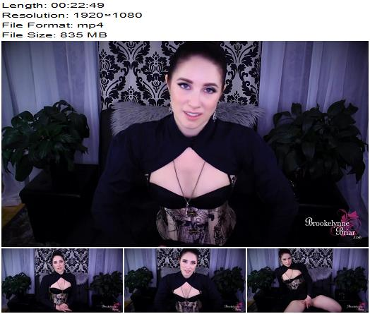 Brookelynne Briar  Sissy Maid Service Training  Part 3  Punishment By Endless Gooning  Chastity preview