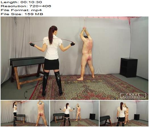 Cruel Punishments  Severe Femdom  Each time harder part 2  Whipping and Caning preview