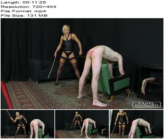 Cruel Punishments  Severe Femdom  No mercy Part 1  Whipping and Caning preview