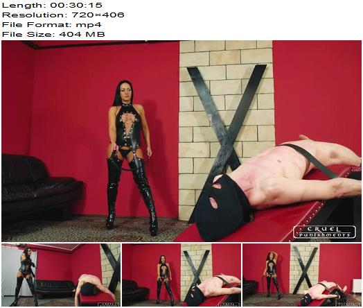 Cruel Punishments  Severe Femdom  Whipped all over his body  Full Movie  Femdom preview