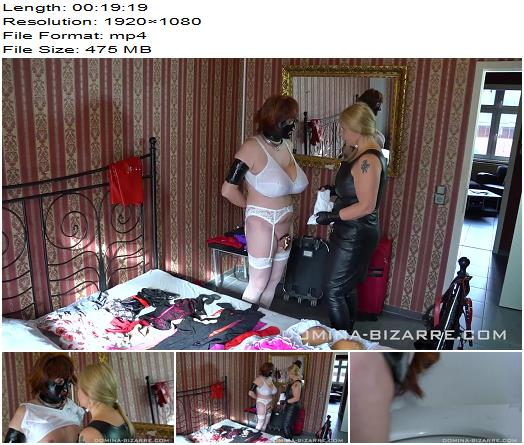Domina Bizarre  A Maid For Lady Mercedes  Part 3  Fetish preview