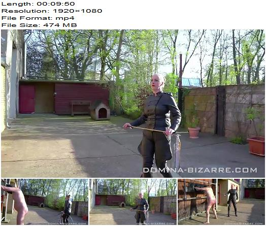 Domina Bizarre Lady Stella Short And Painful Part 2  Outdoors preview