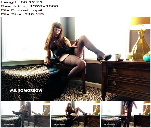 DommeTomorrow  Cat  Mouse Cum Eating Instructions  Cei preview