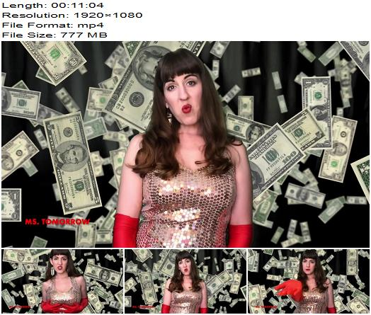 DommeTomorrow  GIVE ME MY MONEY  Blackmail  Findom preview
