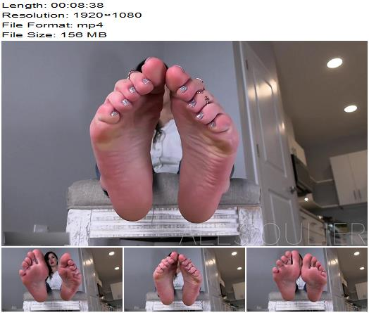 Goddess Alessa  Narcotica  Foot Fetish preview