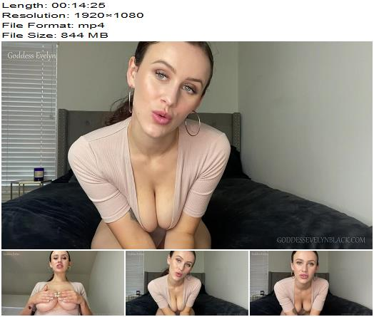 Goddess Evelyn  Stroke and Poke  Anal Training preview