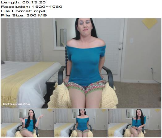 Ivy Starshyne  Consequences of Premature Ejaculation CEI JOI  Blackmail  Findom preview