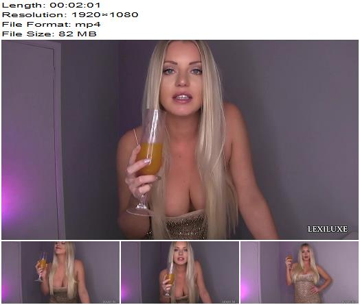 Lexi Luxe  2020 YOUR YEAR OF POVERTY  Blackmail  Findom preview