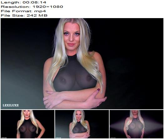 Lexi Luxe  BREASTMERIZED  Blackmail  Findom preview