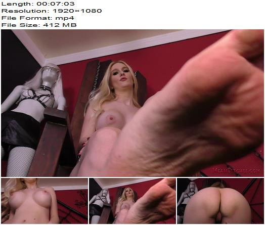 Mean World  Slave Orders  Audrey Madison  In Your Face  Femdom POV preview