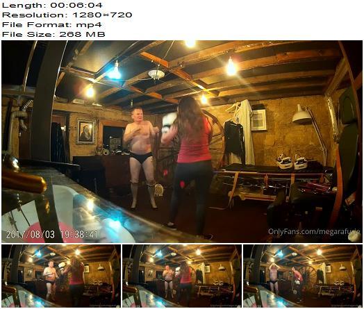 Megara Furie  Workout Slave Boxercise Part 4  Kicking preview