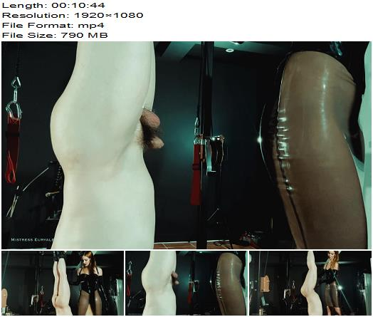 Mistress Euryale Ballboxing upside down  Ball Abuse preview