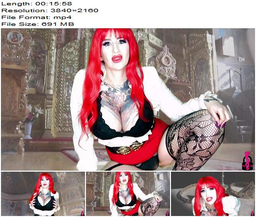 Mistress Harley  Church Service with Mistress Harley  Blackmail  Findom preview