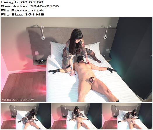Mistress Patricia Cock and Ball Slapping  Ball Abuse preview