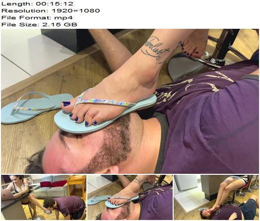 Noccioli Feet  LANA NOCCIOLI at WORK Ep 1 Coworker BEG to WORSHIP my FEET in OFFICE  Femdom preview