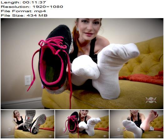Olivia Rose  Just Sniff Gym Shoe Slut  Foot Fetish preview