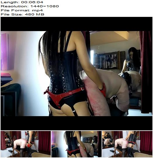 Pegged By Mistress Long and Hard  StrapOn preview