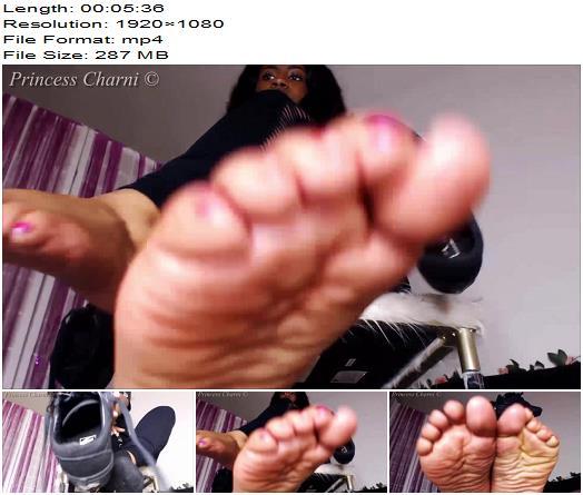 Princess Charni  Black Vans Sneakers Sweaty Socks  Soles  Foot Fetish preview