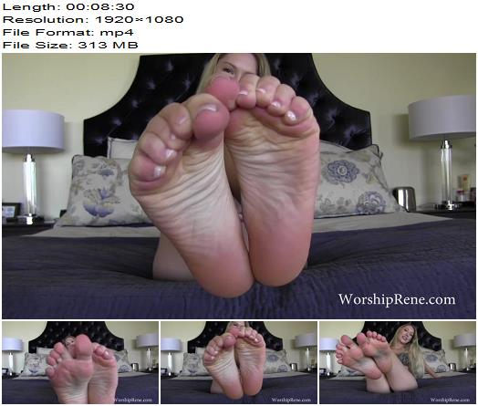 Princess Rene  Stroke For My Luxe Feet  Foot Fetish preview