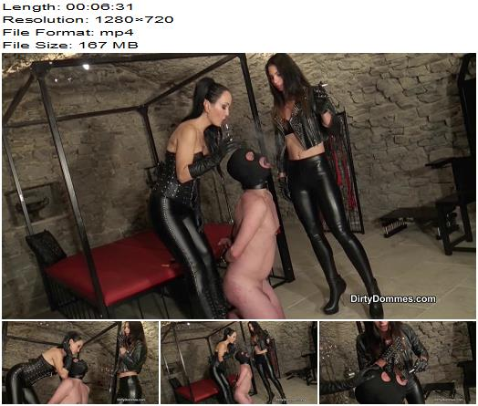 Queens of Kink  Iris Noir Fetish Liza Human Ashtray For Leather Dommes  Femdom preview