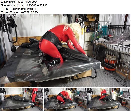 Rubberdomina  Latex Bag  Bondage preview