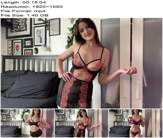 Serve Augustina  Household Cuck Lingerie Tryon for my Boyfriend  Cheating Wife preview