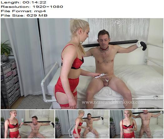 Tease And Thank You  The Slave Aversary Special   Mandy Marx preview