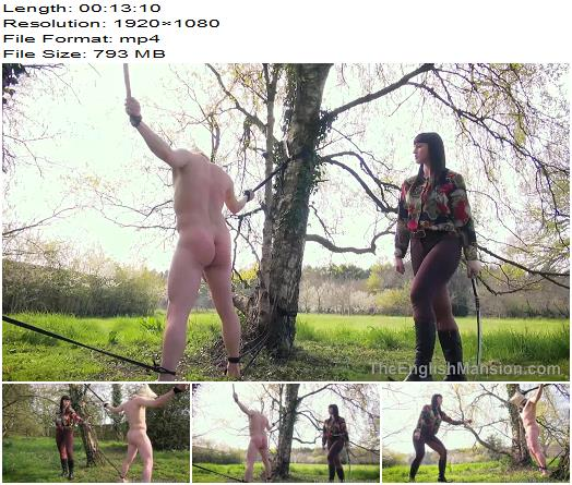 The English Mansion Miss Vivienne lAmour Alfresco SingleTail Complete Movie  Femdom preview