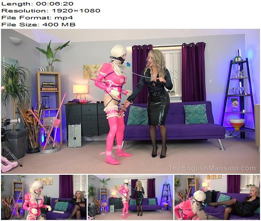 The English Mansion  Mistress Courtney Natalie Goth TV Making A Mindless Bimbo Doll Pt2 Part 3  Sissy preview
