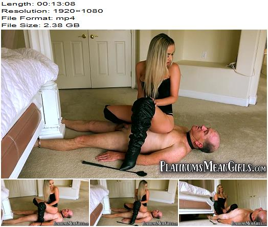 The Mean Girls  Dick Punching The Disobedient Douche   Goddess Platinum preview